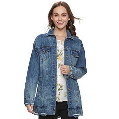 Juniors' Candie's® Destructed Denim Jacket