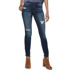 Juniors' Mudd® FLX Low Rise Stretch Skinny Jeans