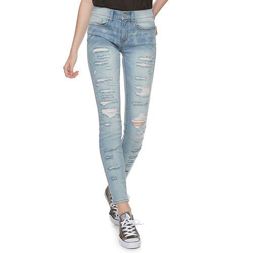 Juniors' Mudd® FLX Low Rise Stretch Skinny Jeans