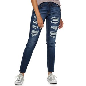 Juniors' Mudd FLX Low Rise Stretch Skinny Jeans