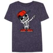 Boys 8-20 Skeleton Dab Tee