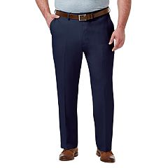 Big & Tall Haggar Premium Classic-Fit Stretch No-Iron Flat-Front Dress Pant