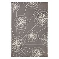 Liora Manne Frontporch Compass Indoor Outdoor Rug