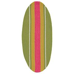 Liora Manne Frontporch Stripeboard Indoor Outdoor Rug - 17.5'' x 43''