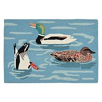 Liora Manne Frontporch Duck Life Indoor Outdoor Rug