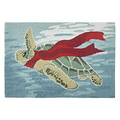 Liora Manne Frontporch Turtle Season Indoor Outdoor Rug