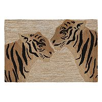 Liora Manne Frontporch Tigers Indoor Outdoor Rug