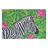 Liora Manne Frontporch Zebra Garden Indoor Outdoor Rug
