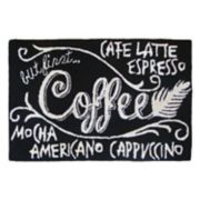 Liora Manne Frontporch ''Coffee'' Indoor Outdoor Rug