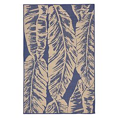 Liora Manne Terrace Banana Leaf Indoor Outdoor Rug