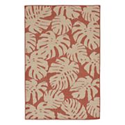 Liora Manne Terrace Fronds Leaf Indoor Outdoor Rug