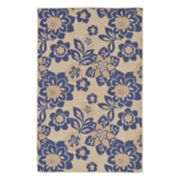 Liora Manne Terrace Garden Floral Indoor Outdoor Rug