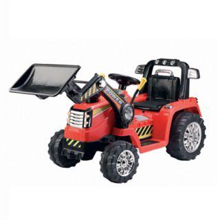 Blazin Wheels 12V Battery Operated Push Dozer Ride-on Vehicle