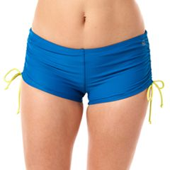 Women's Reebok Direction Reflection Boyshort Swim Bottoms