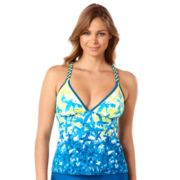 Women's Reebok Word on the Street X-Back Tankini Top