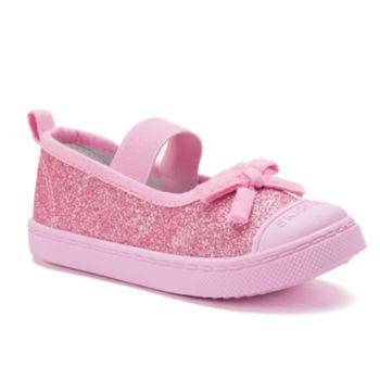 Skidders Toddler Girls' Glitter Mary Jane Shoes