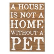 "New View Rustic ""Pet"" Wall Decor"