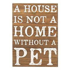 New View Rustic 'Pet' Wall Decor