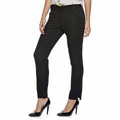 Juniors' Candie's® Scalloped-Pocket Ankle Pants