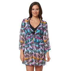 Women's Pink Envelope Chiffon Cover-Up