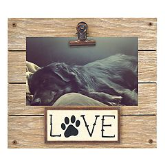 New View Paw Print 4' x 6' Photo Clip Frame