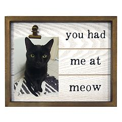 New View 'Meow' 4' x 6' Photo Clip Frame