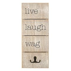 New View 'Live Laugh Wag' Wall Decor
