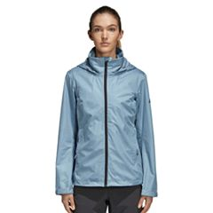 Women's adidas Wandertag Hooded Rain Jacket