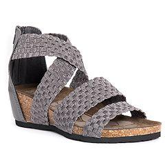 1f03b624902c MUK LUKS Elle Women s Wedge Sandals