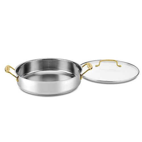 Cuisinart® Mineral Collection 5-qt. Stainless Steel Casserole