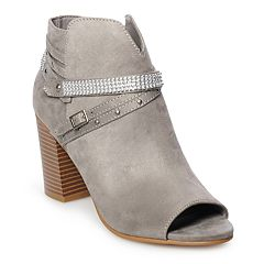 SO® Haw Women's High Heel Ankle Boots