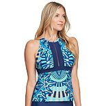 Women's Mazu Swim High-Neck Tankini Top