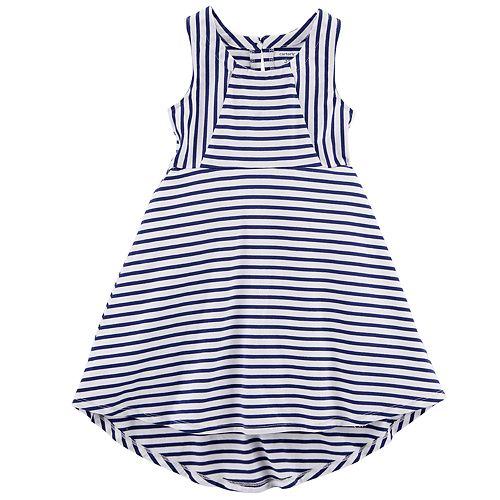 989646f45468 Toddler Girl Carter s Striped High-Low Dress
