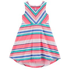 Toddler Girl Carter's Striped High-Low Dress