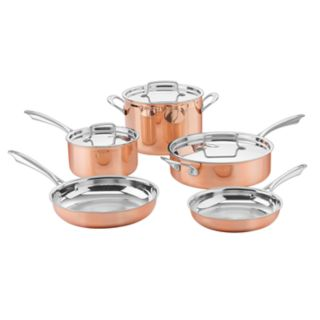 Cuisinart Copper Collection 8-pc. Tri-Ply Cookware Set