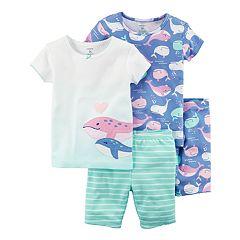 Girls 4-12 Carter's Tops & Shorts Pajama Set