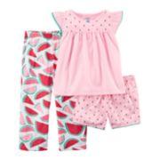 Girls 4-14 Carter's 3-pc. Pajama Set
