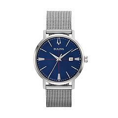 Bulova Men's Aerojet Stainless Steel Mesh Watch - 96B289