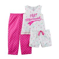 Girls 4-14 Carter's 3-pc. Mermaid Pajama Set