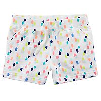 Toddler Girl Carter's Patterned French Terry Shorts