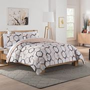 Vue Hexagonal Reversible Comforter Set