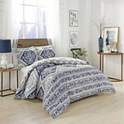 Marble Hill Brielle Reversible 3 pc Comforter Set