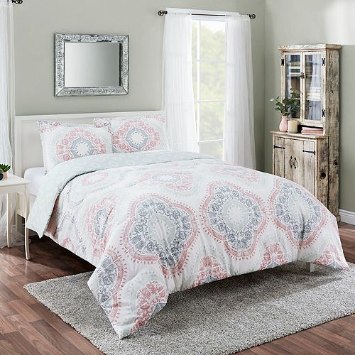 Marble Hill Sabina Reversible 3-piece Comforter Set