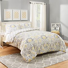 Marble Hill Rayna Reversible 3 pc Comforter Set