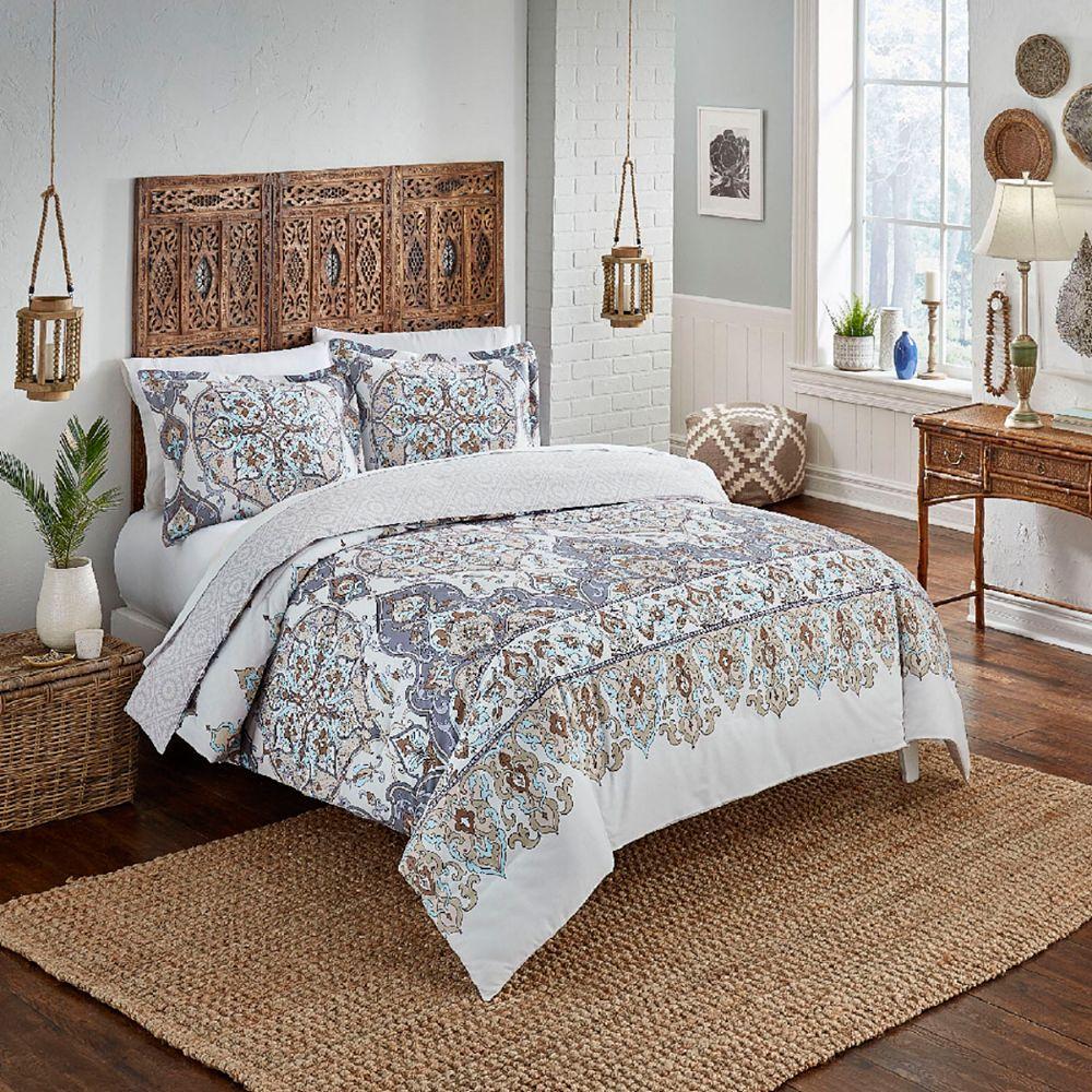 Boho Boutique Rozella Reversible Comforter Set