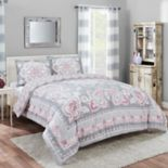 Marble Hill Nala Reversible 3 pc Comforter Set