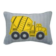 Waverly Kids Under Construction Embroidered Oblong Throw Pillow
