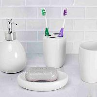 Home Basics 4-piece Bath Accessory Set