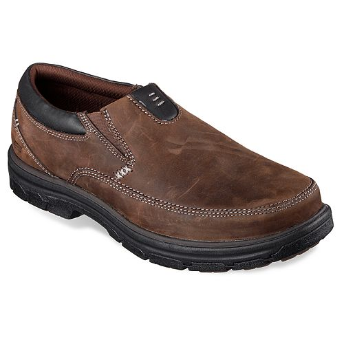 25661e5342de Skechers Relaxed Fit Segment The Search Men s Loafers