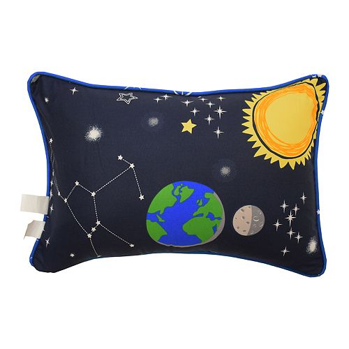 Waverly Kids Space Adventure Oblong Throw Pillow